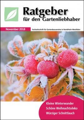 Ratgeber für den Gartenliebhaber November 2018