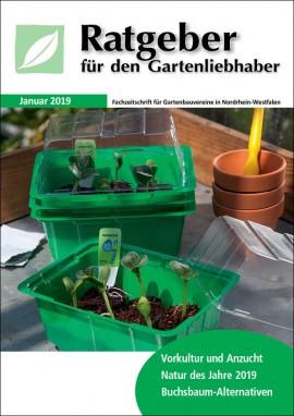 Ratgeber für den Gartenliebhaber Januar 2019